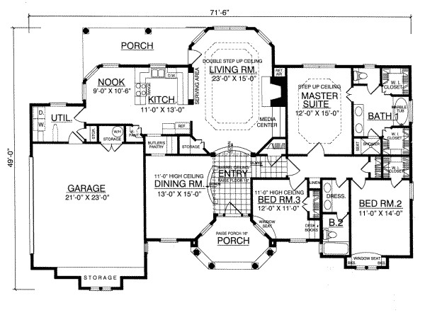 sketch a house plan for free