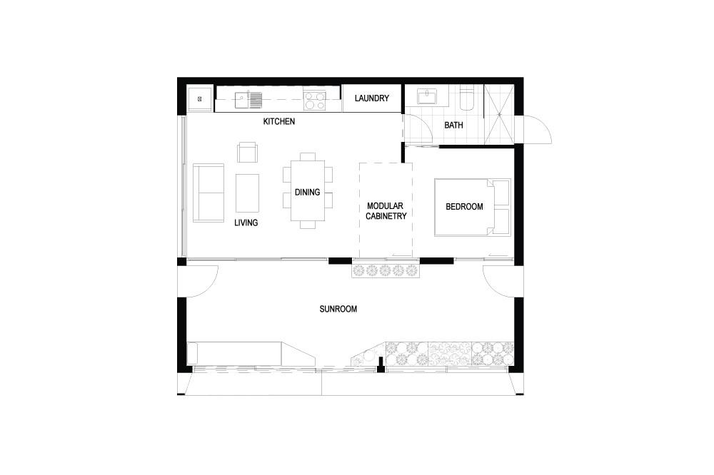 archibloxs carbon positive prefab house