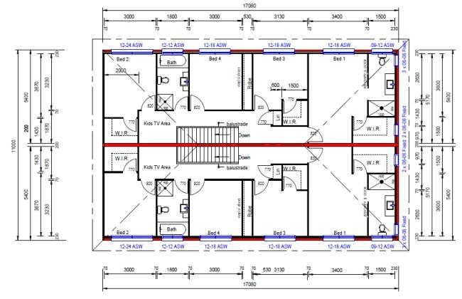 491du townhouse plans