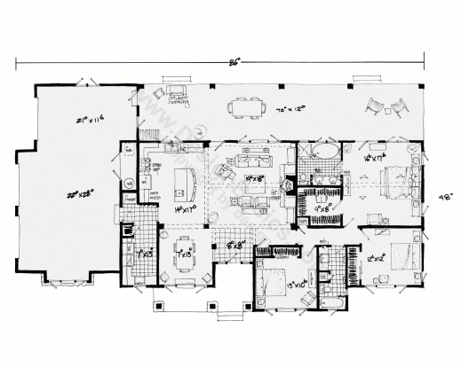 fascinating one story house plans with open floor plans design basics home plans with open floor plans single story photos