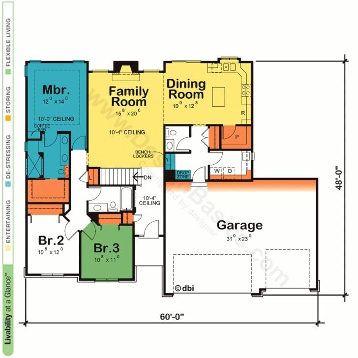 inspiring one story house home plans design basics one floor house plans