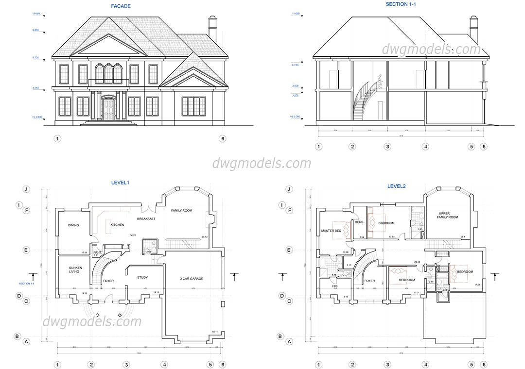 471 two story house plans