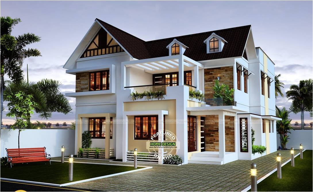 Home Plans Image 28 Sloped Roof Bungalow Font Elevations Collection 1