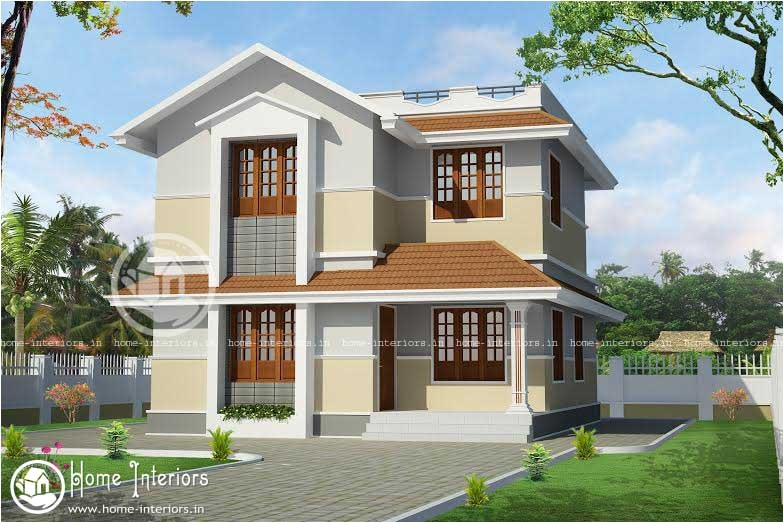 1400 sqft beautiful kerala home design
