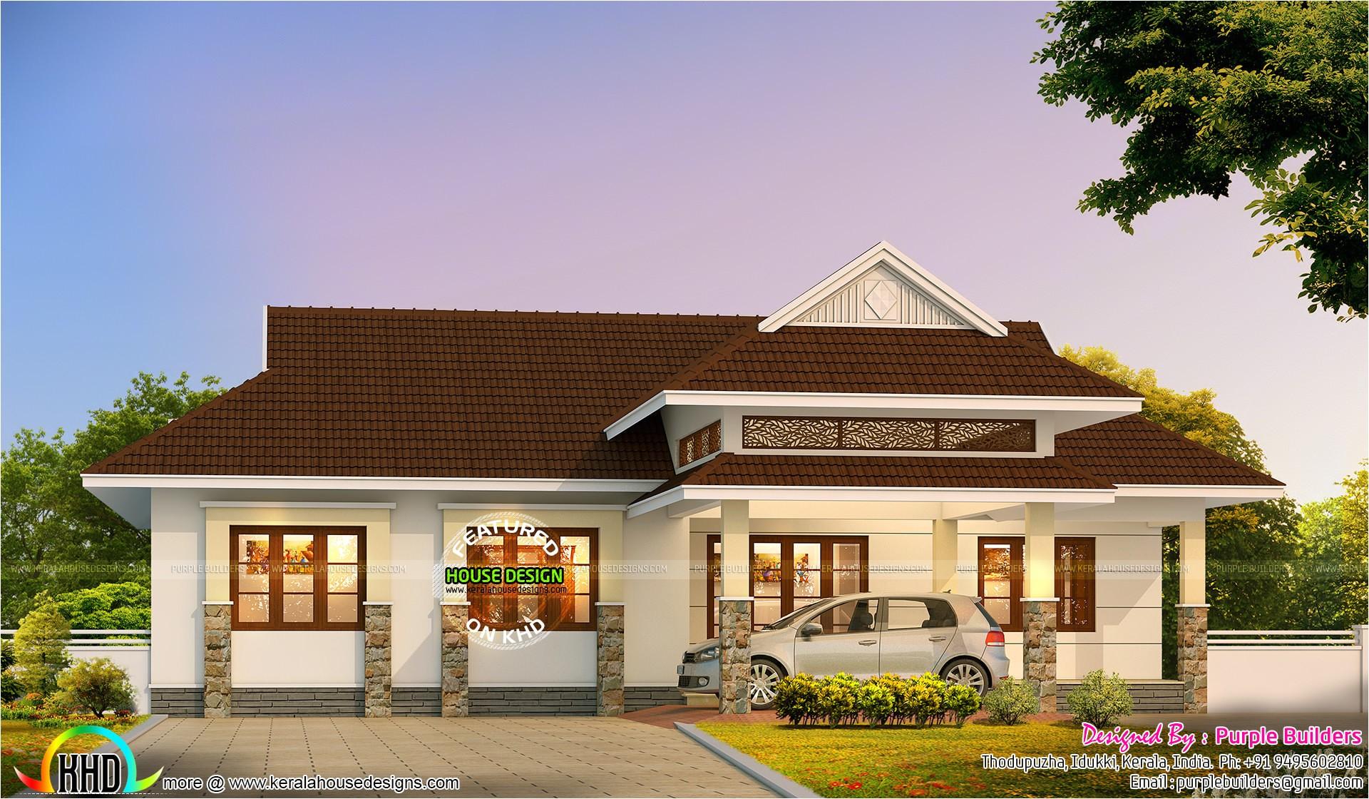 2016 style kerala home design