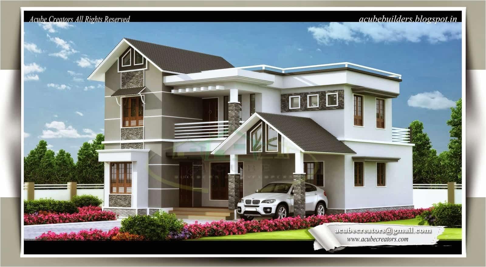 kerala home design 4 bedroom villa 1983 sq ft