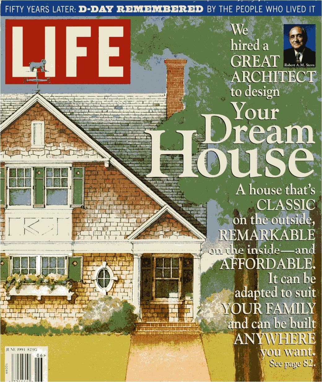 Home Plans Magazine Life Magazine Dream House Robert A M Stern