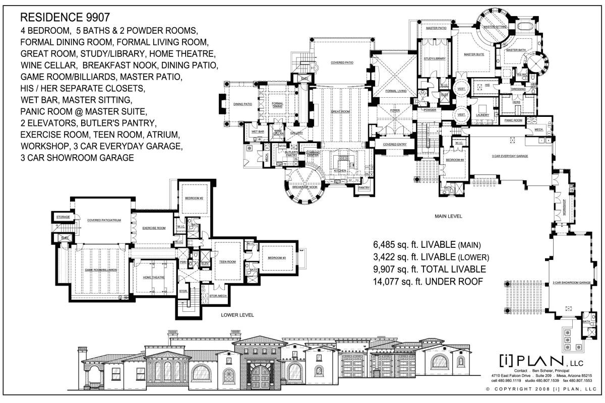 10 000 sq ft home floor plans
