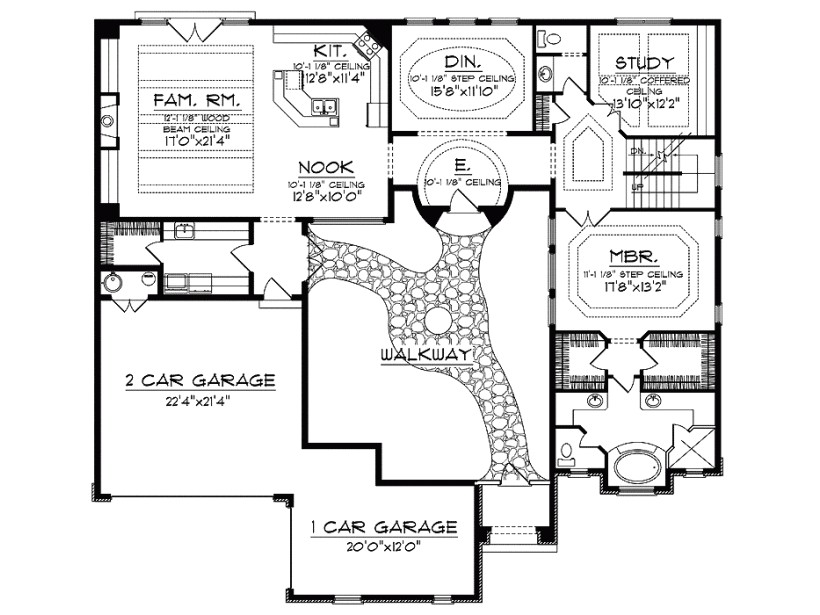 Home Plans with Courtyard In Center House Plans with Courtyard In Center