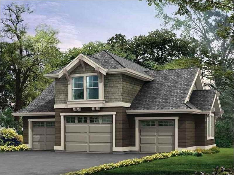 house with detached garage plans