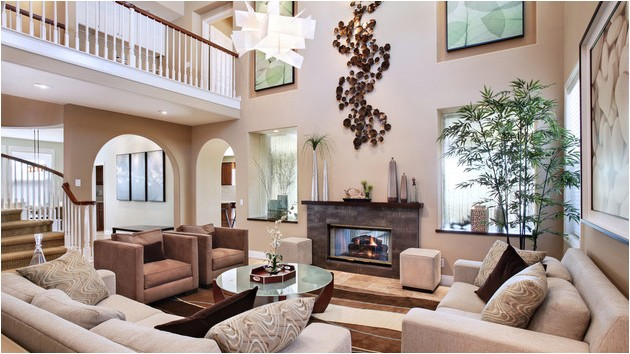 interiors with high ceilings