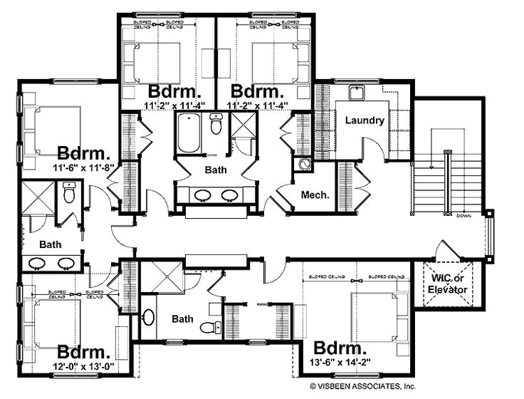 Home Plans with Jack and Jill Bathroom Jack Jill Bathroom Floor Plans Floor Plans Pinterest