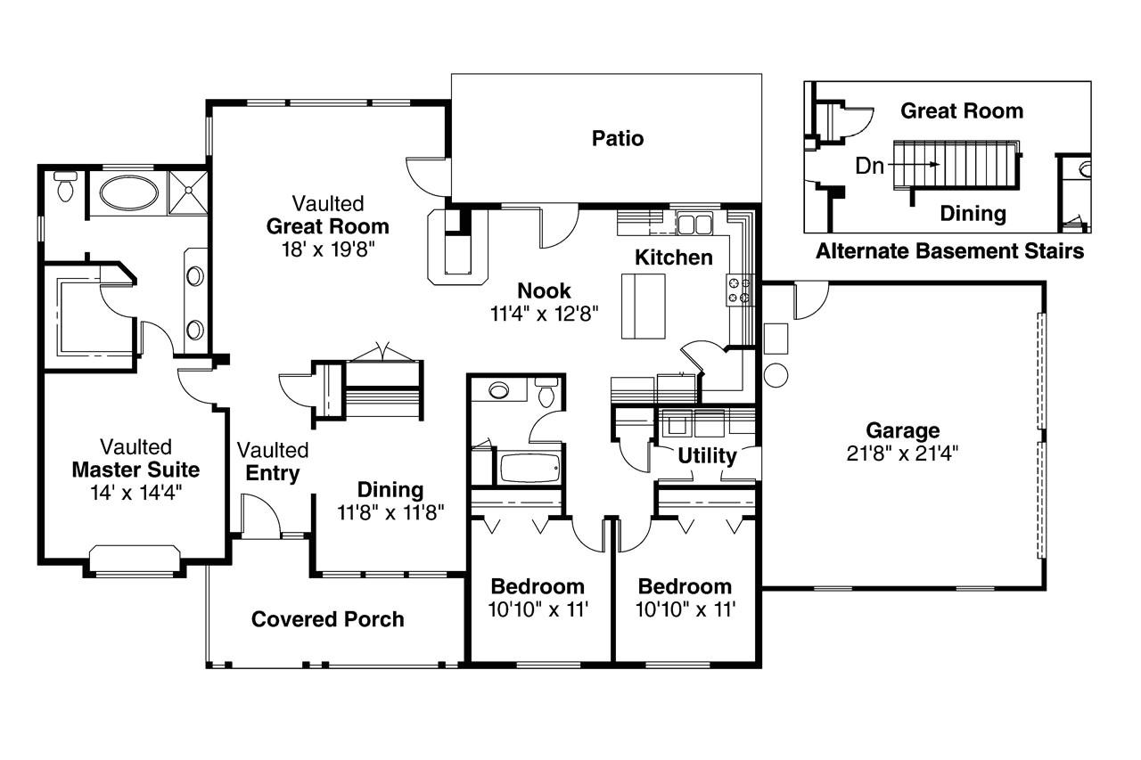 house kitchen plans
