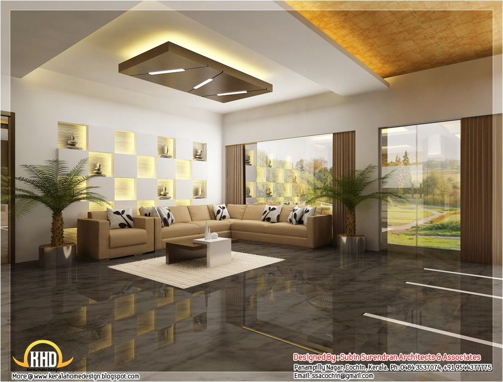 Home Plans with Photos Of Interior Beautiful 3d Interior Office Designs Kerala Home Design