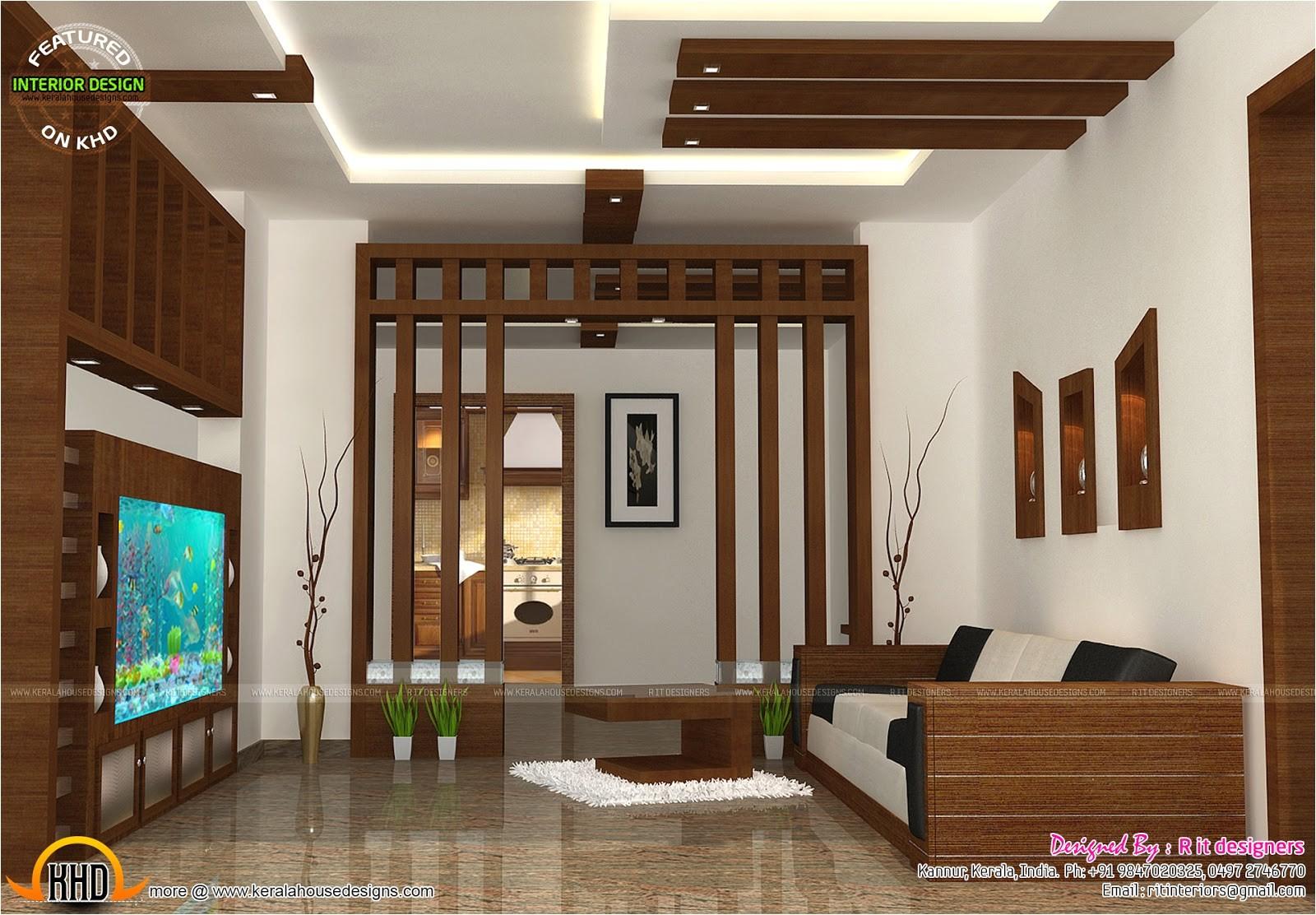 wooden finish interiors