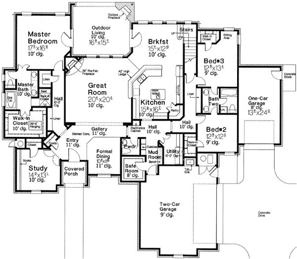 home plans with safe room
