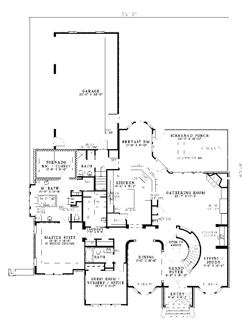 house plans with safe rooms