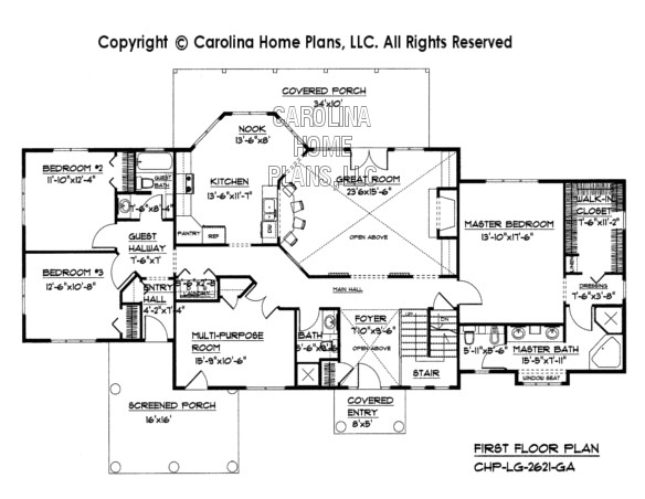 lg2621ga large openfloor houseplan