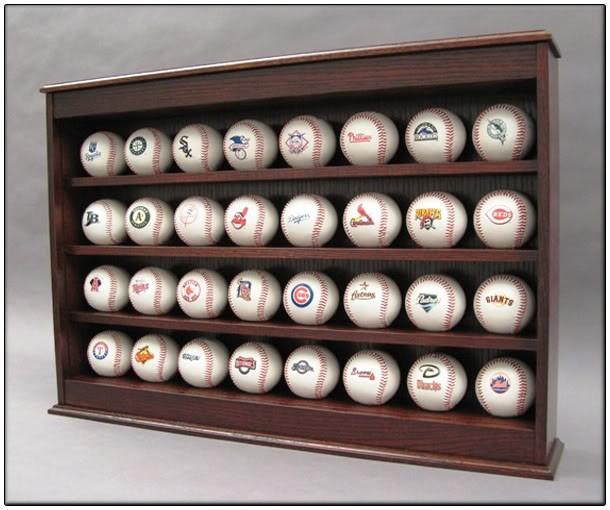 baseball display case plans
