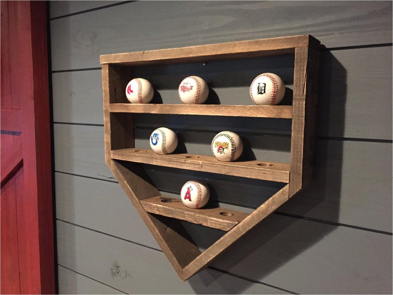 baseball shelf wooden home plate