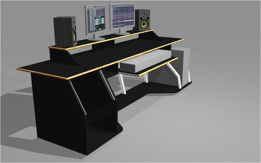 recording studio desk plans