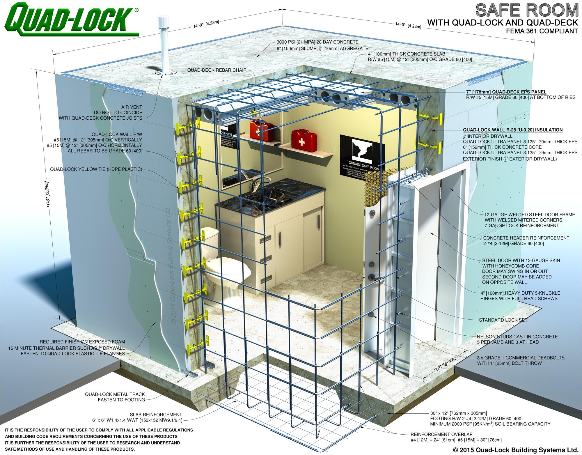 110825 safe room construction