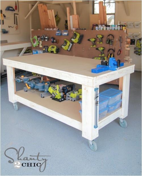 diy workbench 2