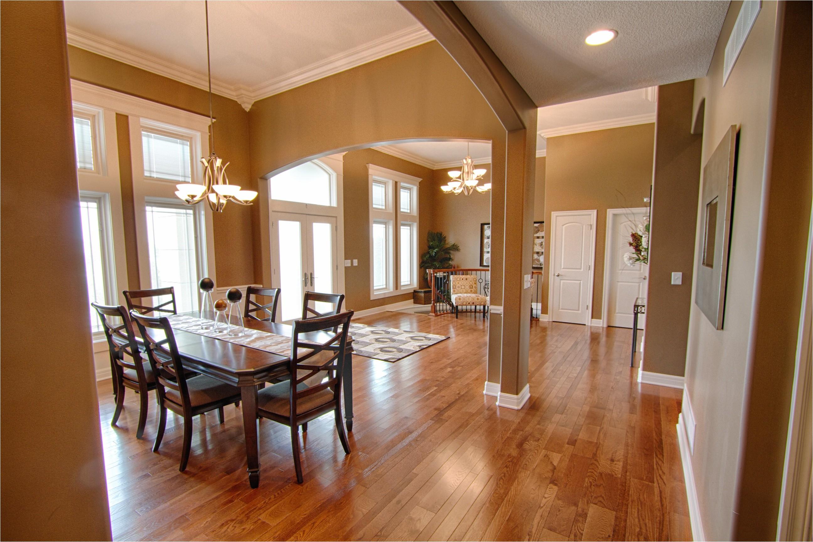 open floor plan homes