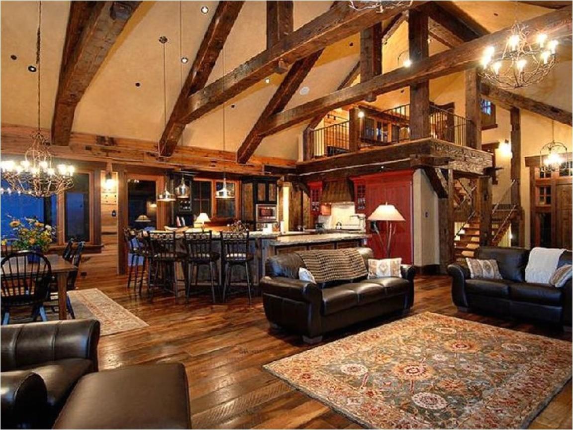 789dca8399eb0948 rustic open floor plans with loft best open floor plans