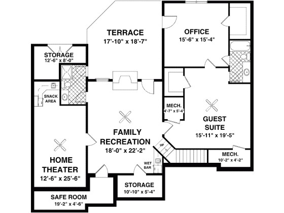 1800 to 1900 square foot house plans