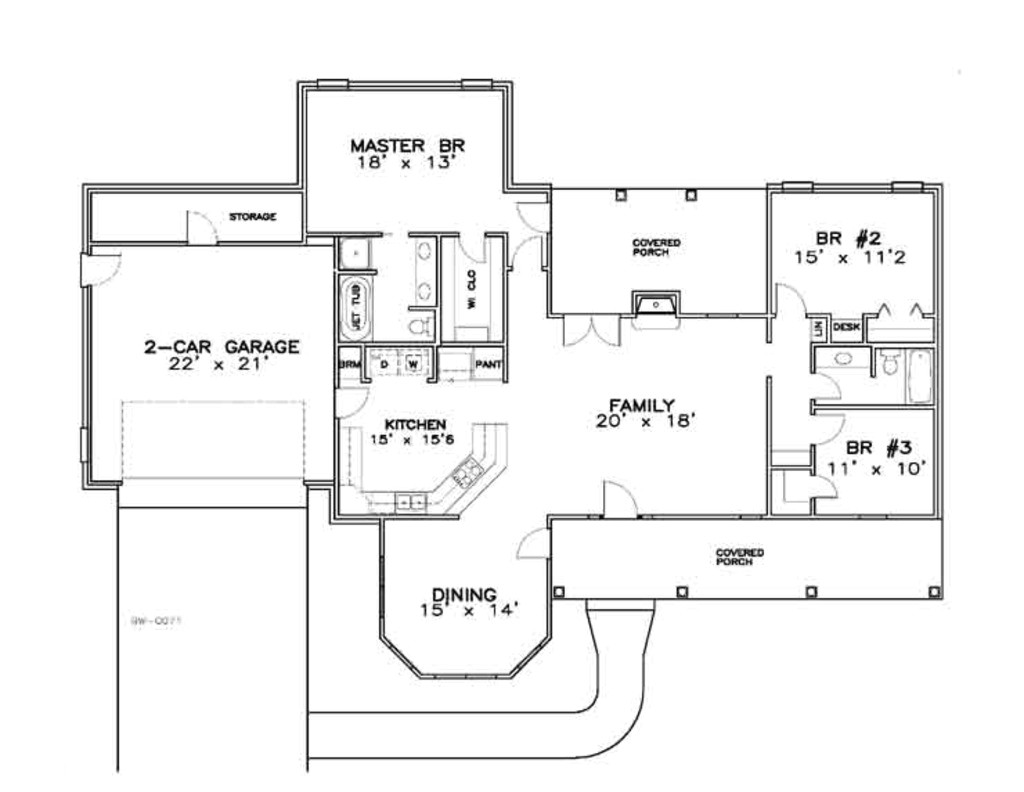 ranch house plans 1700 sq ft