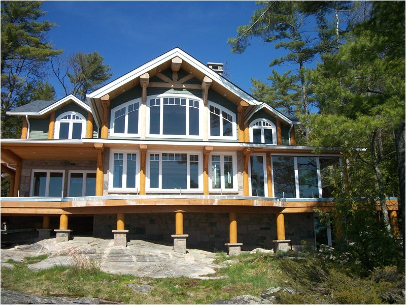 southern lakefront home plans