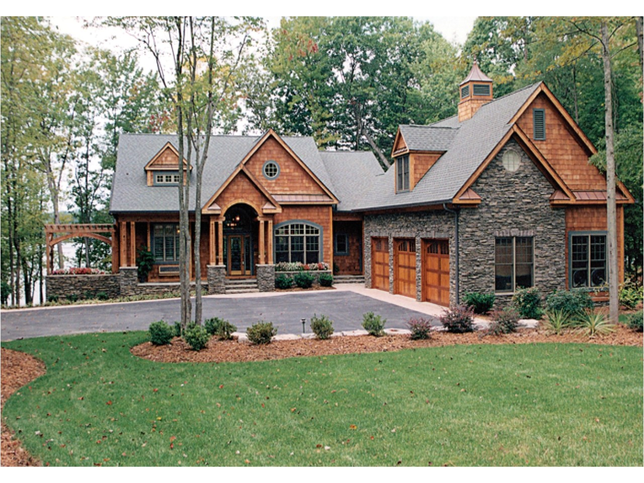 House Plans for Lake Houses Craftsman House Plans Lake Homes View Plans Lake House