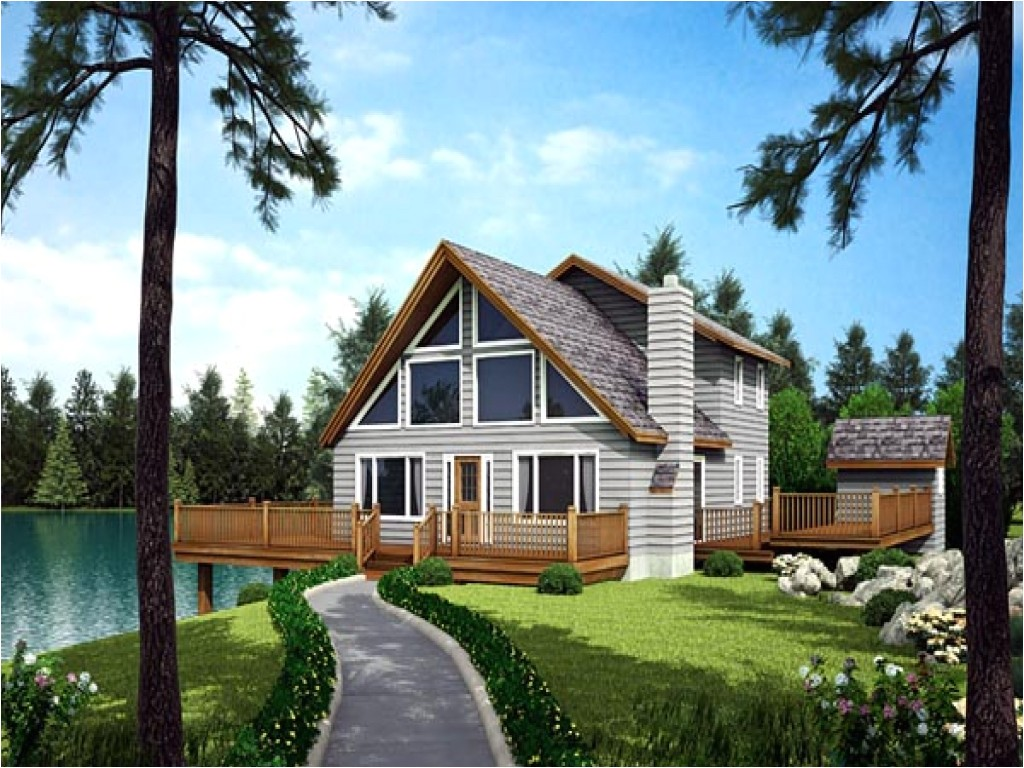 House Plans for Waterfront Home Ranch House Plans Waterfront Waterfront Homes House Plans