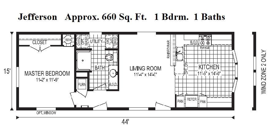 modular homes less than 1000 square feet