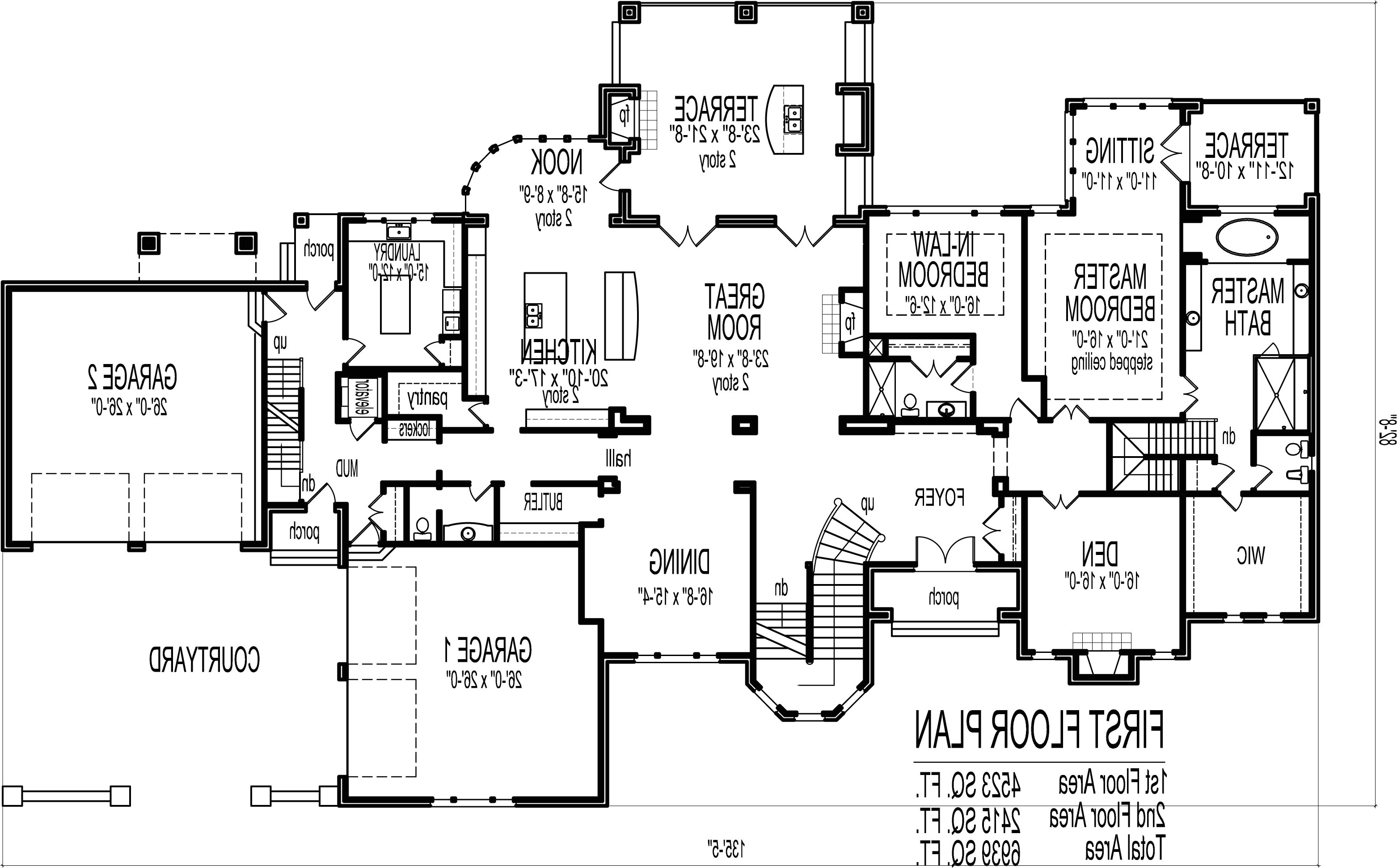 5000 to 10000 square foot house plans