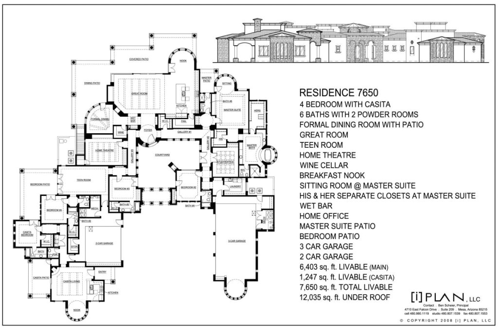 one story house plans 5000 sq ft
