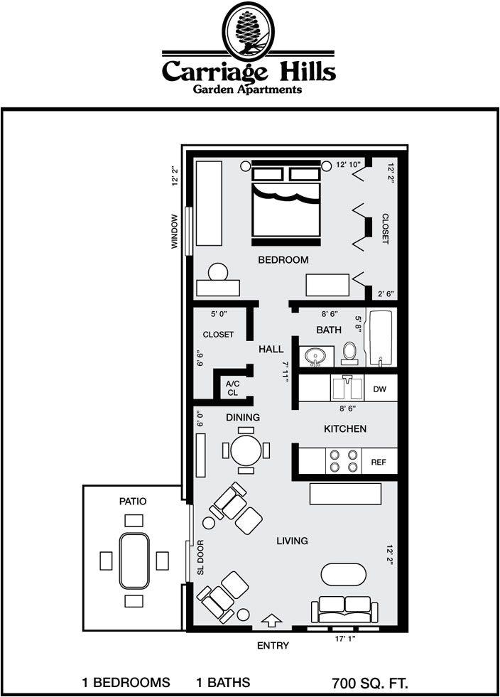 house plans 700 square feet