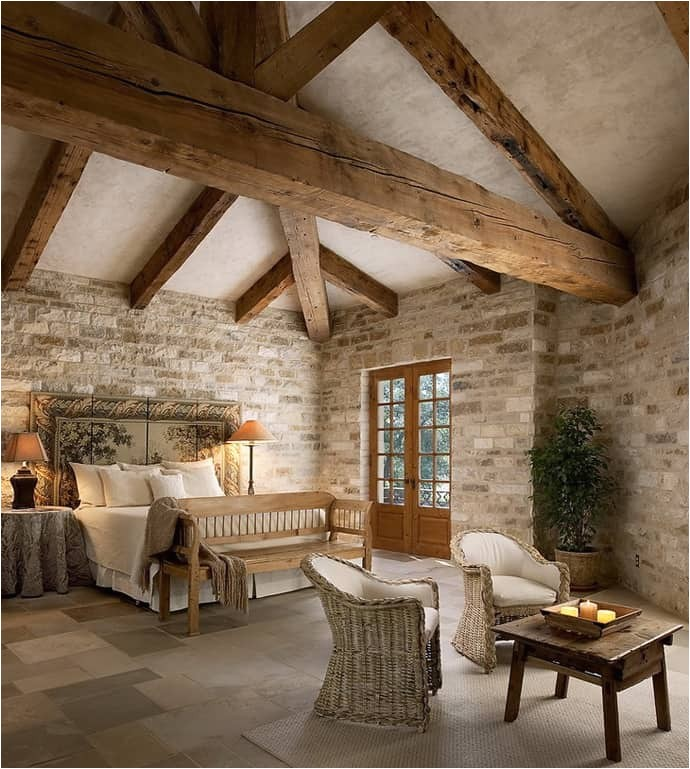 a rustic flavor 20 suggestions of how to expose beams beautifully