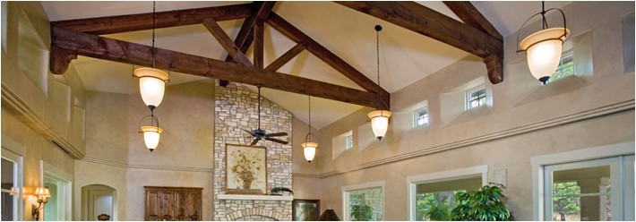 texas custom home design trend exposed ceiling beams