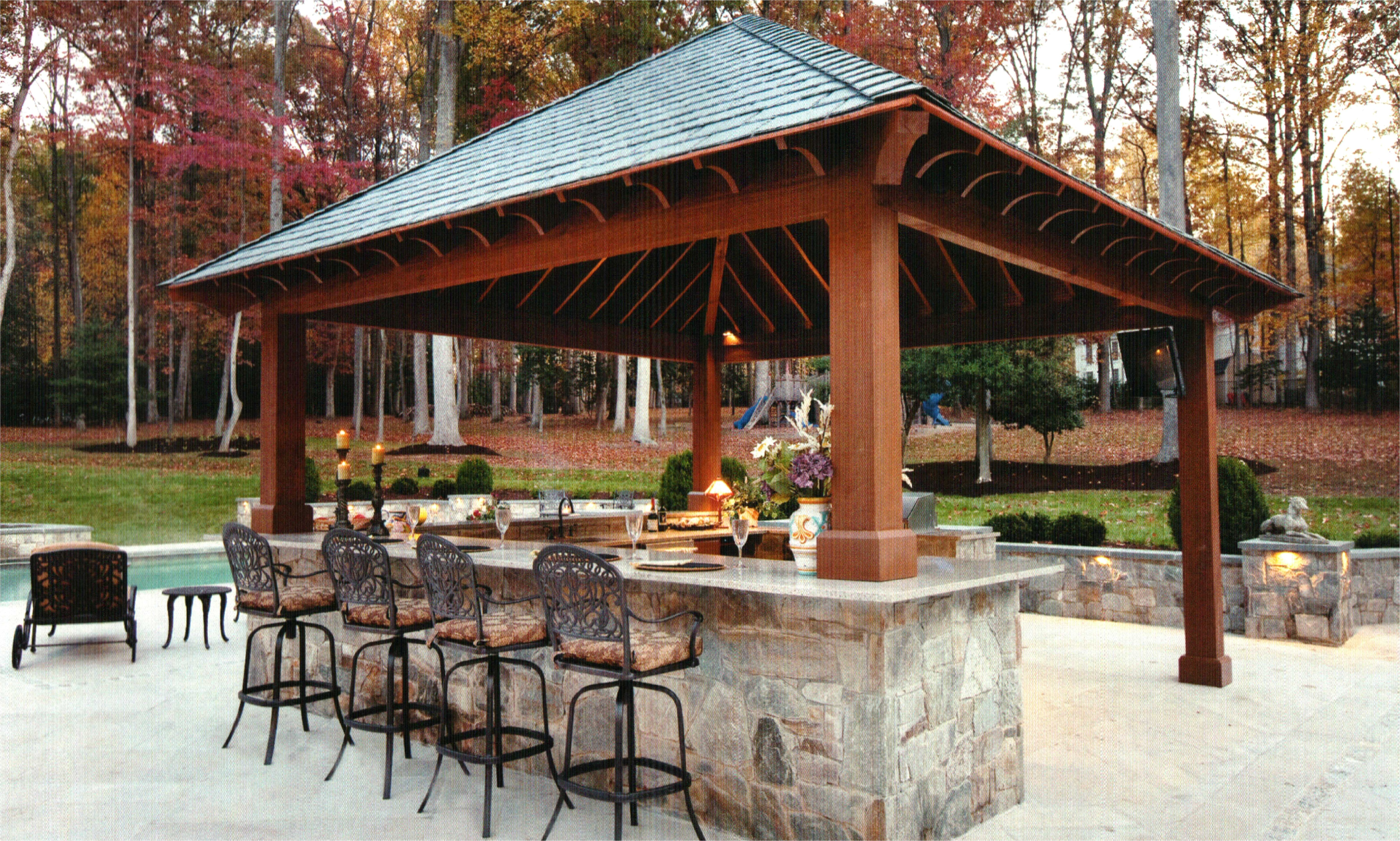 outdoor outdoor kitchen designs with pool house plans pools and 39cfdb43070ddfef