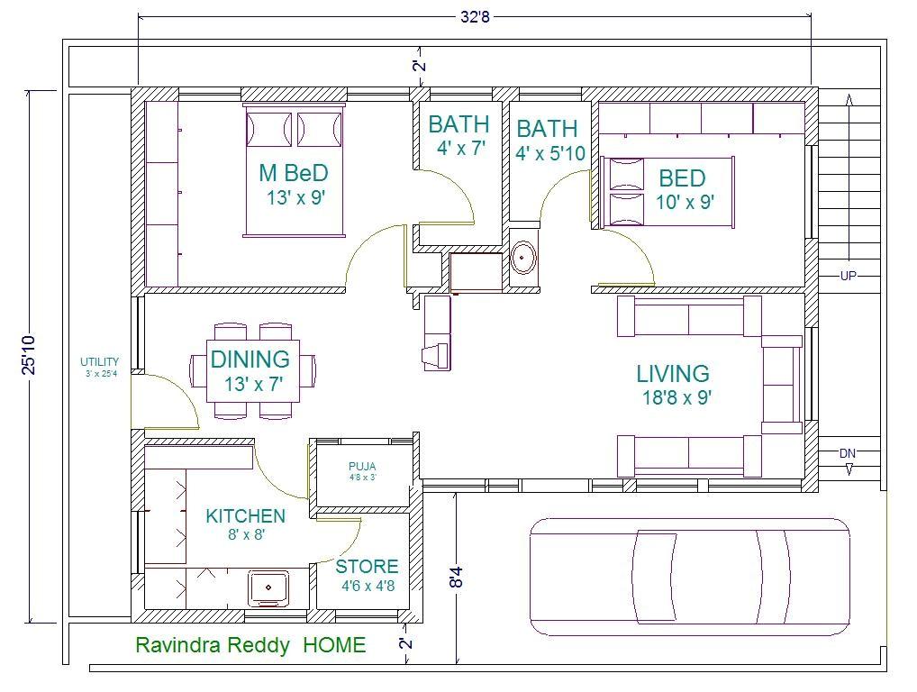 house plan north facing ravi