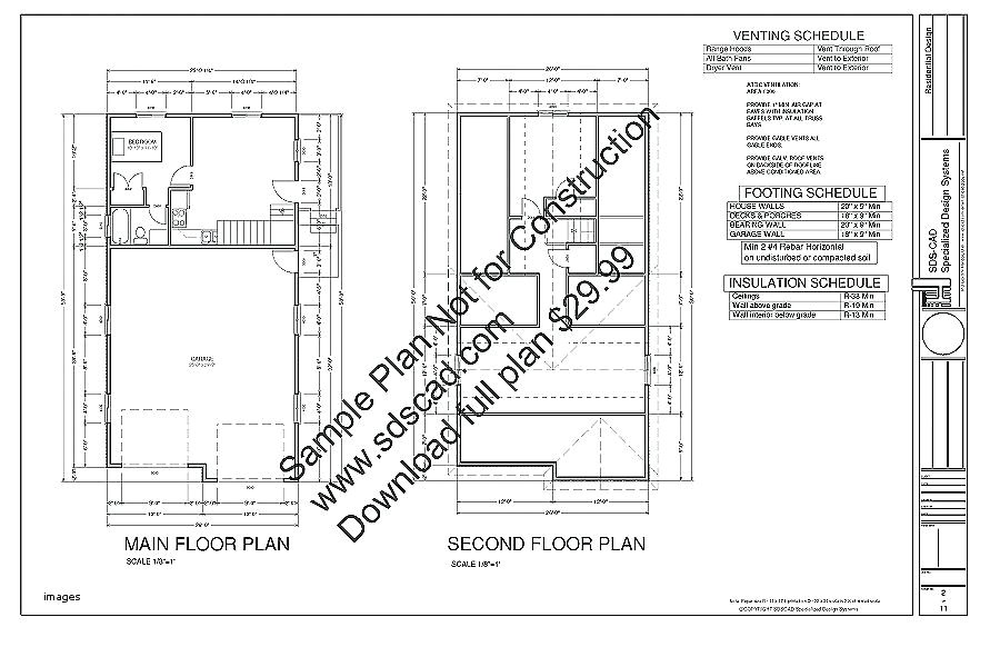 house plans with separate kitchen