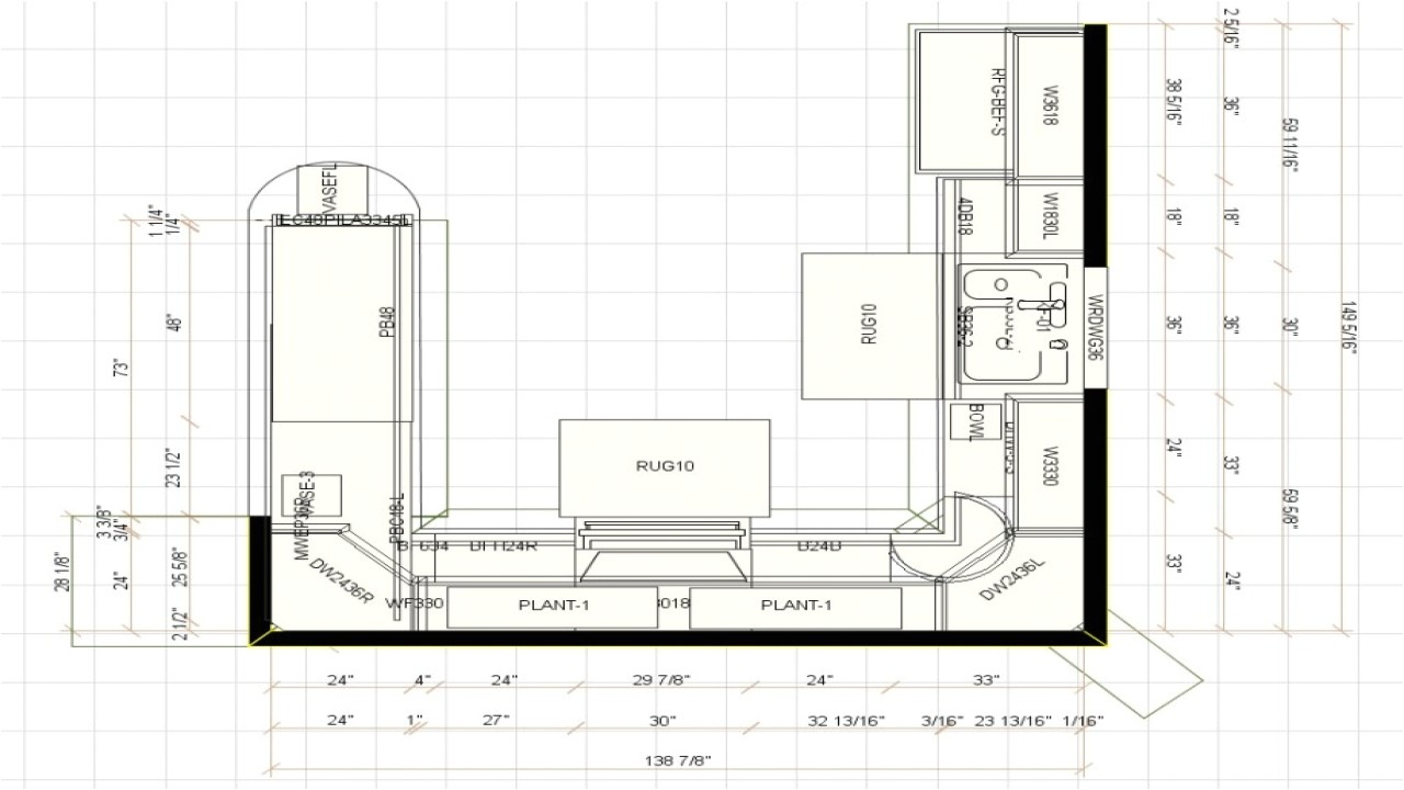 0f4e86c0f3b1103e kitchen cabinet floor plan design u shaped kitchen floor plans