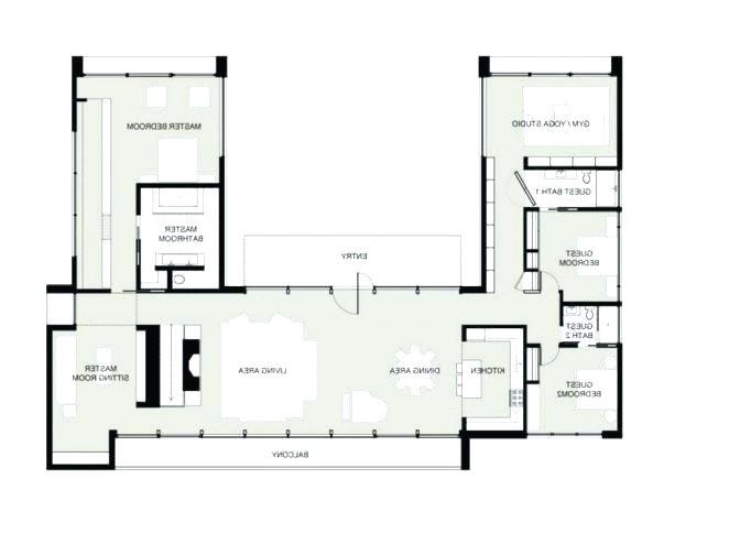 House Plans With U Shaped Kitchen Kitchen Floor Plans U Shaped Floor