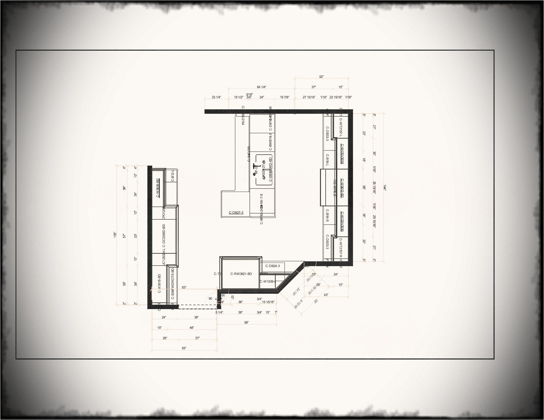 l shaped kitchen layout plans www