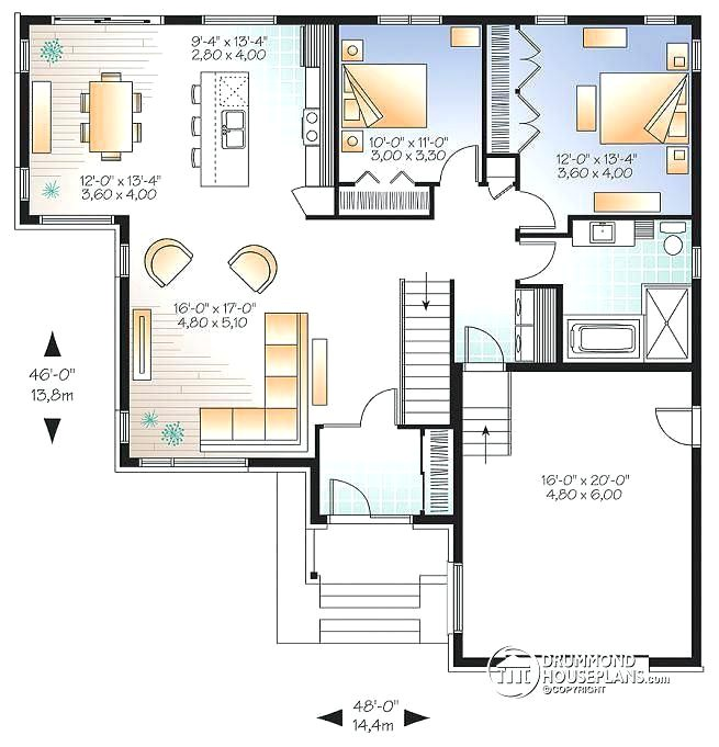 house plans without open concept