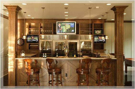 stunning home bar areas