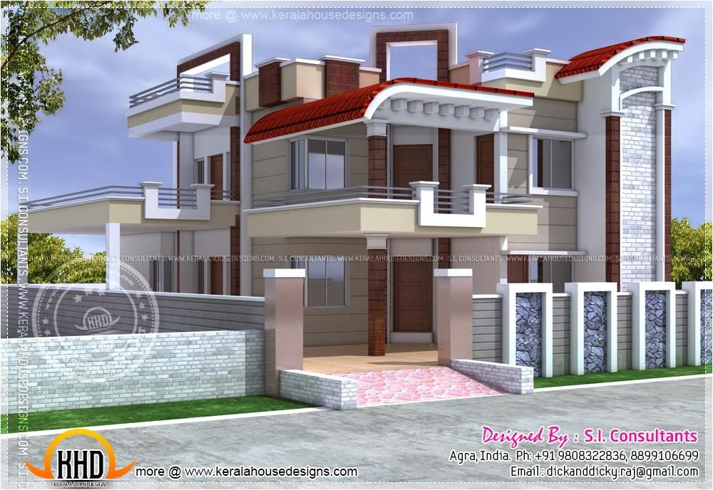 exterior design house india