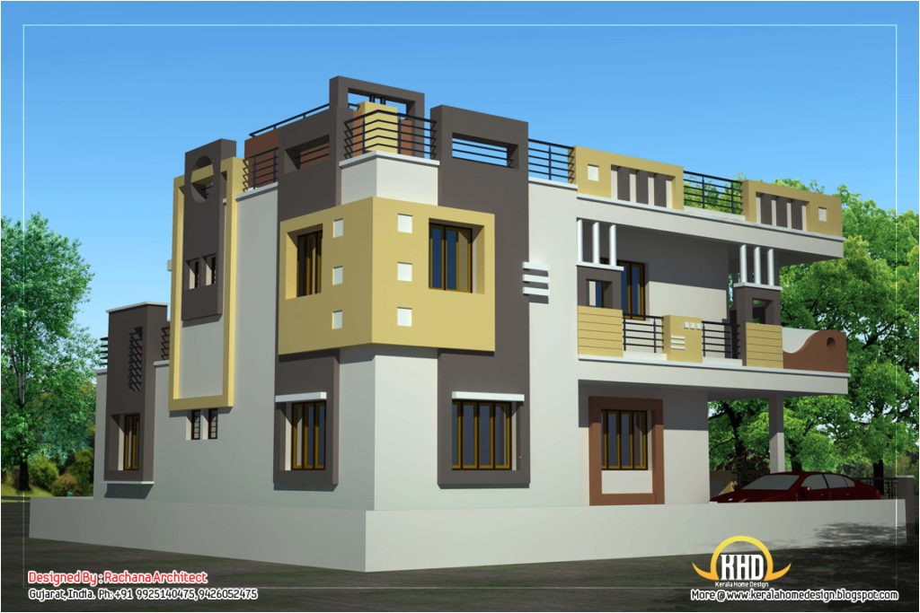 duplex house plan and elevation sq ft kerala home building elevation design pdf building elevation design software free download